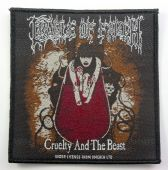 Cradle of Filth - 'Cruelty and the Beast' Woven Patch